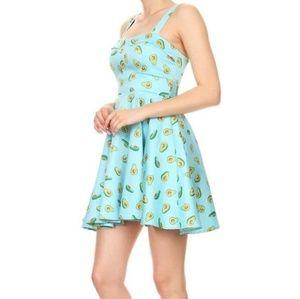 Guac on the Wild Side Mini Dress